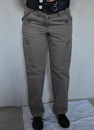 Стильные #брюки, #карго, #коттон, #tcm tchibo, #классика, с-м, 38-40