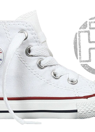 f8e76f885254 Детские кеды converse chuck taylor all-star 70s high white 132173