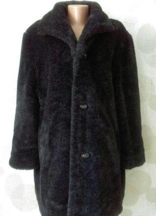 Двухсторонняя шубка пальто