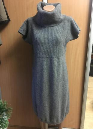 Платье шерсть жилет туника размер l