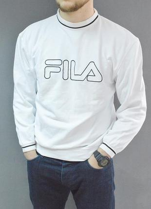 Крутой винтажный свитшот fila vintage sweatshirt