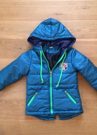 Весенняя курточка на мальчика 3 - 7 лет | есть замеры 98, 104, 110, 116