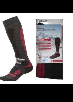Лыжные зональные термо носки/гольфы от профессионального спортивного бренда crivit,45-46p