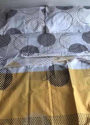 Двухспальный комплект постельного белья из бязь голд пакистан