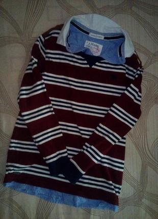 Рубашка обманка,кофта,джемпер
