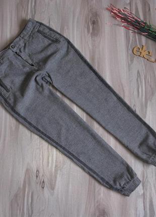 """Стильные брючки чинос """"zara"""" ( ткань хорошо тянется) размер eur 36/ 38"""