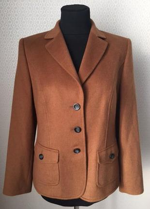 Изумительный жакет пиджак (шерсть, ангора) от бренда basler, размер нем 42, укр 48-50