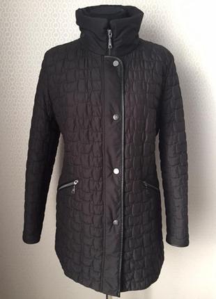 Отличная длинная куртка премиального бренда basler, размер нем 40, укр 46-48