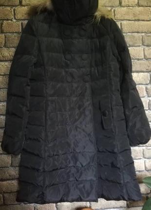 Скидка!!! брендовое пуховое пальто от lee cooper.