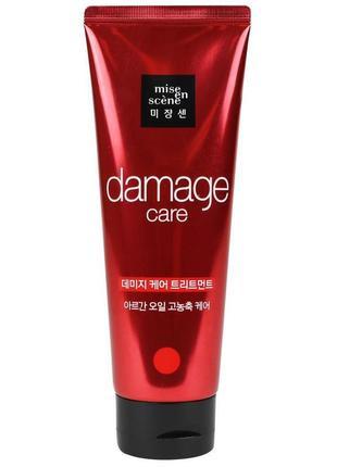 Маска для волос восстанавливающая mise en scene damage care