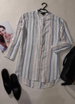 Стильная рубашка. спинка на запах, размер l