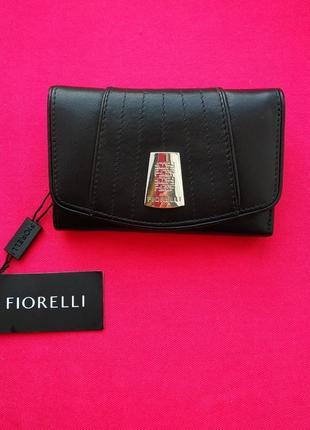 Кожаный женский кошелек fiorelli