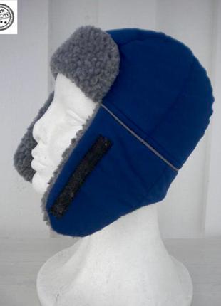 Теплая шапка ушанка, швеция