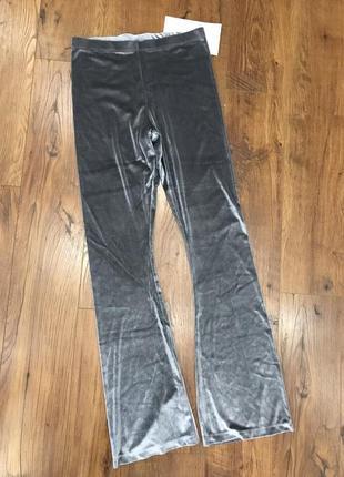 Бархатные штанишки для дома спорта отдыха s yamamay, лосины, штаны