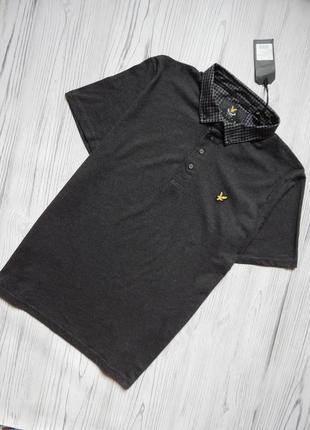 Классная мужская футболка поло от lyle scott.  размер xxl.
