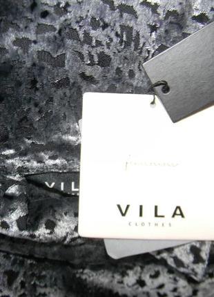 Новое красивое велюровое платье vila4 фото