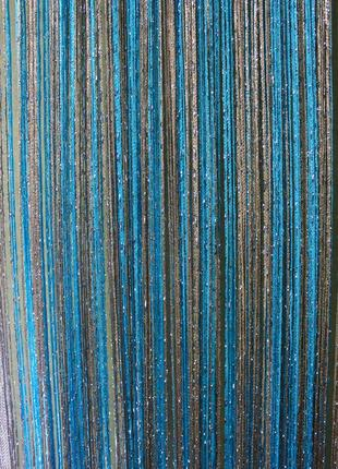 Нитяные шторы, кисея3