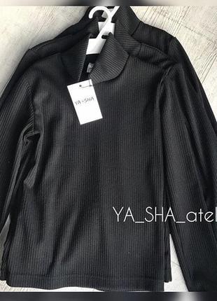 Базовый гольф/ водолазка чёрного цвета