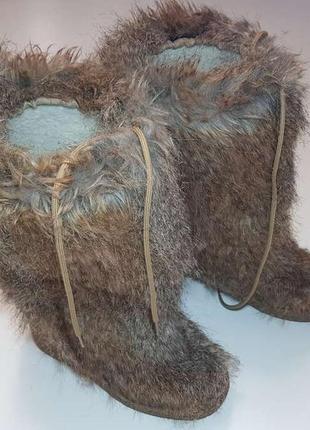 Сапоги теплые, с натур кожей, 39р. 26 см, сост. отличное!