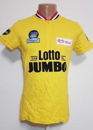 Велофутболка lotto, s-m, как новая!
