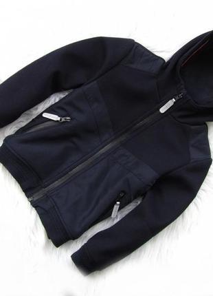 Стильная куртка бомбер реглан с капюшоном jasper conran