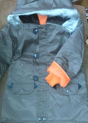 Классная куртка деми для мальчика