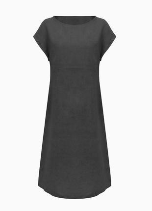 Премиум льняное платье anne, германия платье лен