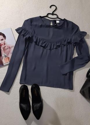Стильная нежная блуза. размер s