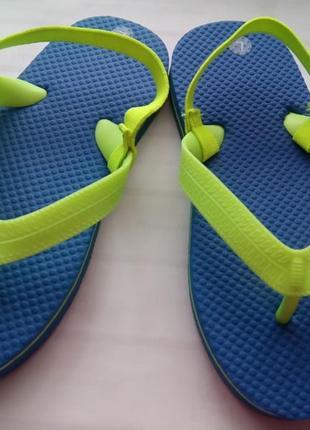 Вьетнамки шлепанцы flip-flops шлепки primark uk 10-11 р.28-29 19,5 см