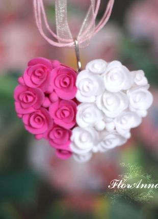 Кулон сердце лучший подарок на день святого валентина. 14 февраля
