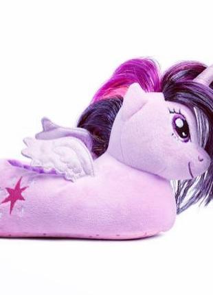 Тапочки для дома h&m с единорогом мой милый пони