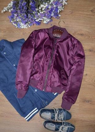 Курточка куртка бомбер f&f 9 10 лет 134 - 140