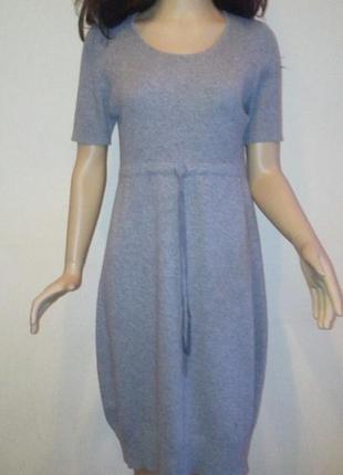 Серое платье демисезонное платье для беременной