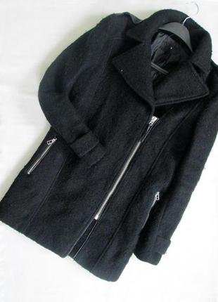 H&m/актуальное теплое пальто косуха
