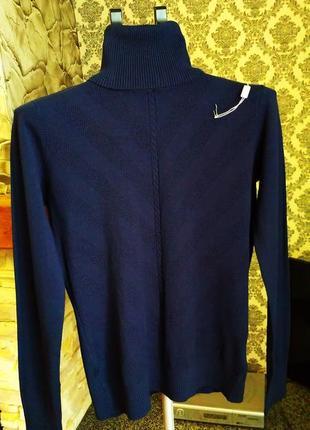 Gertie мягкий,теплый шерстяной свитерок, гольф,водолазка с горлом 60%шерсть