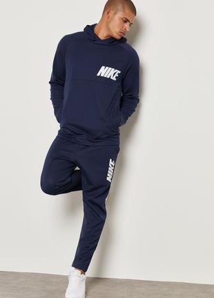 Спортивный костюм nike толстовка худи реглан + штаны