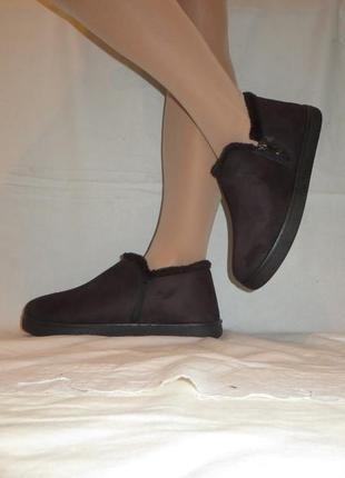 Ботинки с мехом размеры 40,41,42