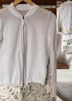 Классный бомбер куртка ветровка marc cain №2 оригинал