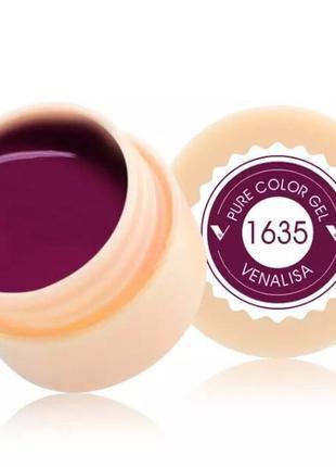 Цветной гель, гель-краска venalisa № 1635