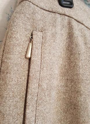 Шерстяные брючки-чиносы, разм.504 фото