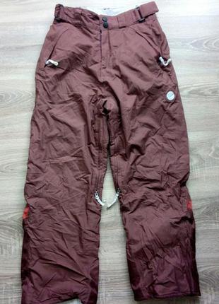 Подростковые теплые зимние лыжные штаны