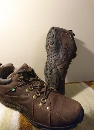 Ботинки трекинговые braddock ,28,8см,кожаные