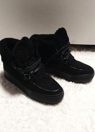 Ботинки (на резиновой платформе) 23 см по стельке
