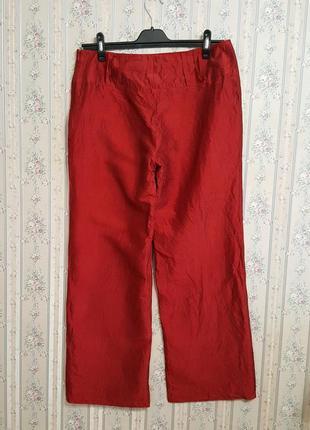 Шелковые брюки кюлоты, шелк,  от marc aurel, разм.503 фото