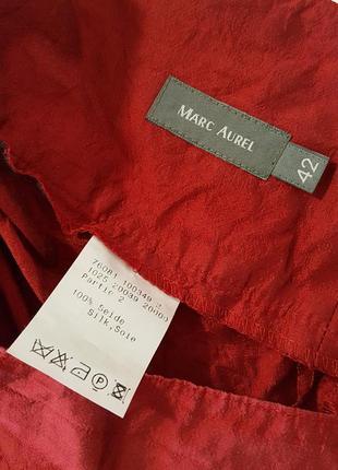 Шелковые брюки кюлоты, шелк,  от marc aurel, разм.504 фото
