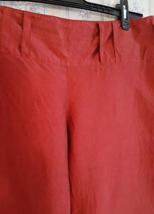 Шелковые брюки кюлоты, шелк,  от marc aurel, разм.502 фото