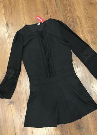 Стильное платье - с баской yamamay s, сарафан, туника