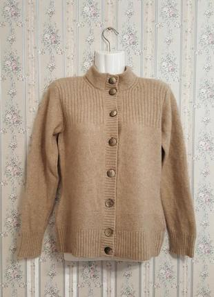Кашемировый кардиган-свитер, разм. 46