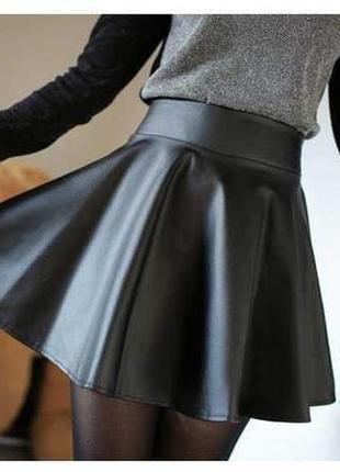 Классная юбка под кожу, в идеальном состоянии