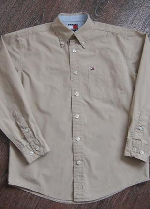 Фирменная рубашка tommy hilfiger